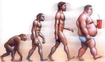 La evolución humana y el sobrepeso