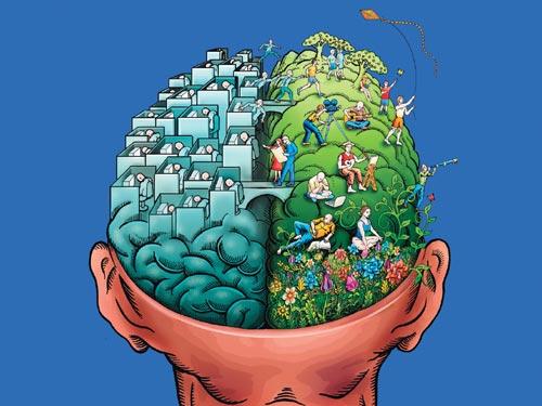 Buscando el equilibrio mental. (Imagen: www.sinmiedo.es)