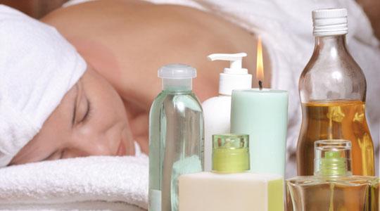 aceites esenciales en el masaje