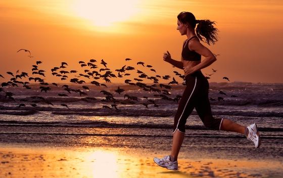 practicar jogging