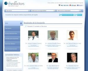 listado de médicos