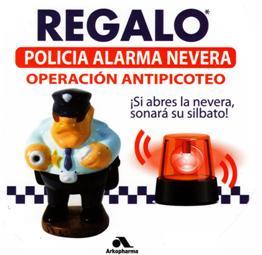 Alarma policía antipicoteo