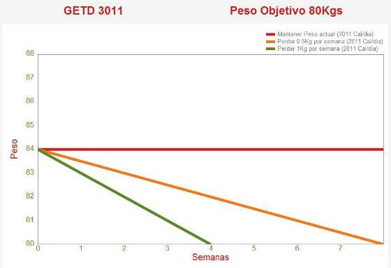 Gasto energético total diario (GETD)