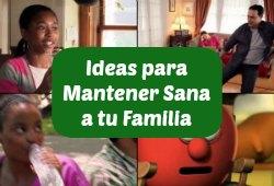 ideas para mantener sana a tu familia