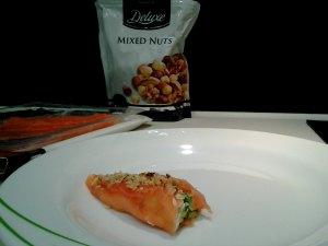 rollito de salmon